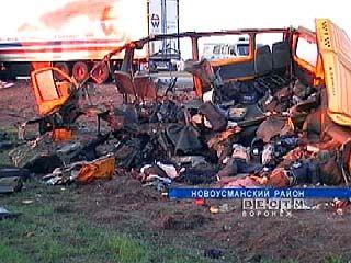 ДТП  в  Новоусманском районе произошло по вине водителя фуры
