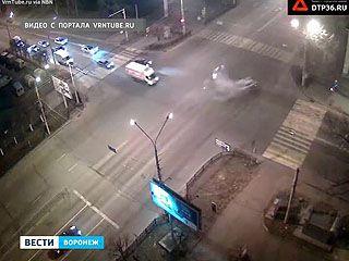 ДТП на Московском проспекте чудом обошлось без жертв
