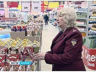 Два вида конфет не прошли проверку Роспотребнадзора