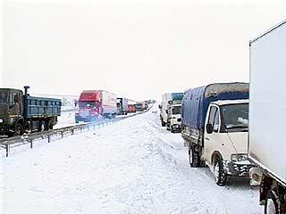 """Движение по автомагистрали """"Дон"""" ограничено сразу в трех областях"""