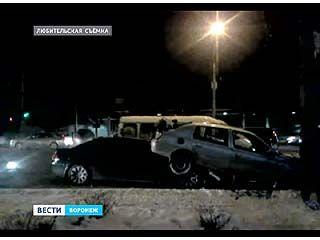Двухэтажное ДТП произошло накануне вечером на Московском проспекте