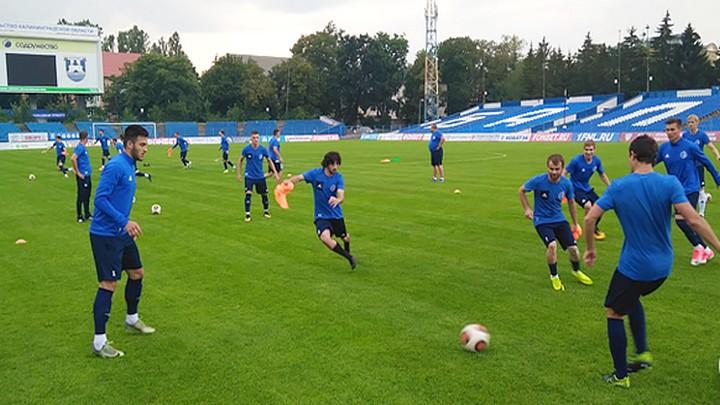 Воронежский «Факел» выиграл с минимальным счётом у «Балтики» в Калининграде