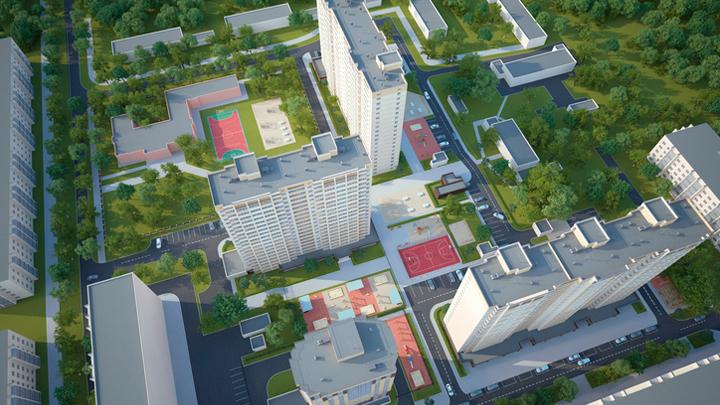 Мэрия Воронежа утвердила проект застройки квартала в Коминтерновском районе