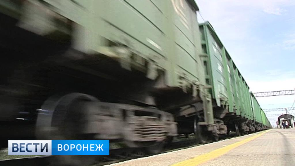 По железной дороге в обход Украины через Воронежскую область начали курсировать грузовые поезда