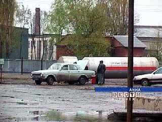 Единственная газовая заправка в Таловой работала незаконно
