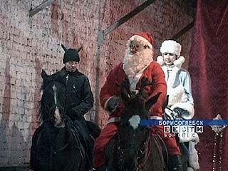 Единственный в области конный театр дает новогодние представления
