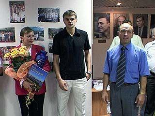 Егора Вяльцева чествовали в музее спорта