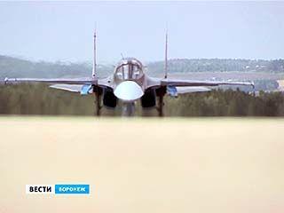 Ещё три новеньких самолёта Су-34 прилетели на службу в Воронеж