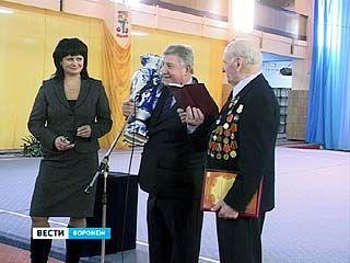 Евгений Анцупов принимал официальные поздравления