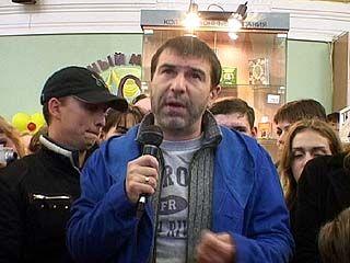 Евгений Гришковец посетил Воронеж