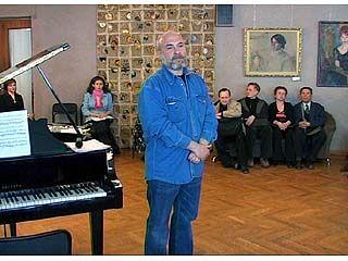 Евгений Щеглов провел творческий вечер