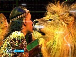 Фауна всего мира на манеже Воронежского цирка