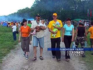"""Фестиваль """"Рамонский Родник"""" положительно влияет на демографию"""