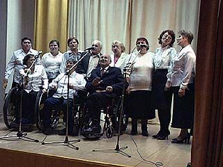Фестиваль самодеятельности инвалидов по зрению пройдет в Воронеже