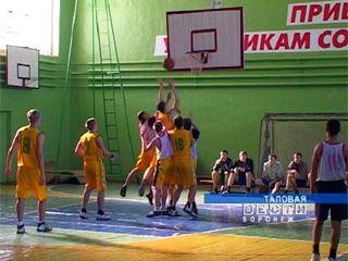 Финал спартакиады учащихся по баскетболу