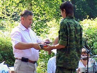 """Финишировал военно-патриотический сбор в лагере """"Костер"""""""