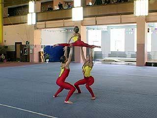 Финишировали соревнования ЦФО по спортивной акробатике