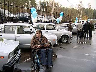 Фонд социального страхования вручил автомобили, пострадавшим на производстве