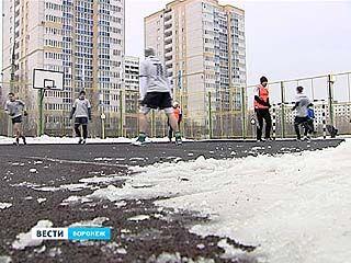 Футбол на снегу: участие в турнире приняли 15 уличных команд