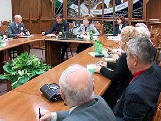 Галина Карелова встретилась с воронежскими ветеранами