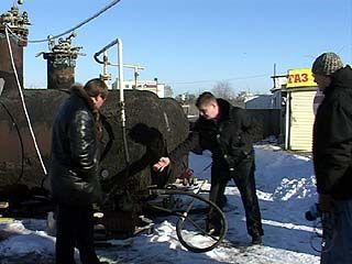 Газовые заправки проверяют сотрудники воронежской милиции