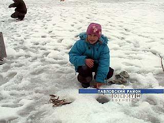 Где в Воронежской области можно освоить подлёдный лов?