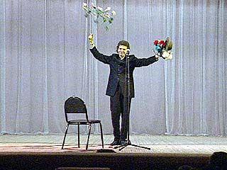 Геннадий Ветров дал концерт в Воронеже