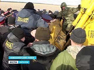 Геологоразведку в Новохоперском районе снова пытались сорвать