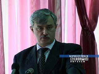 Георгий Полтавченко посетил Борисоглебск