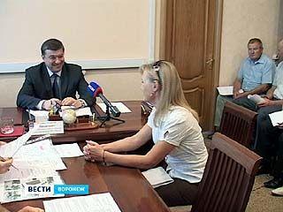 Глава города Сергей Колиух пообщался с воронежцами в приёмной Владимира Путина