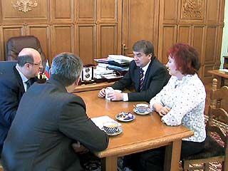 Глава города Сергей Колиух провел встречу с Александром Бабаковым