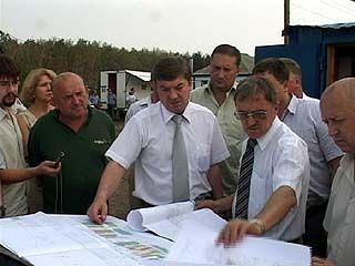 Глава города Сергей Колиух провел выездное совещание в Масловке