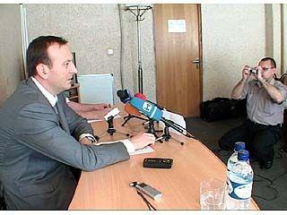 Глава налоговой инспекции области ответил на вопросы журналистов