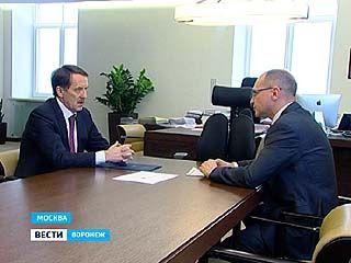 """Глава региона встретился с гендиректором """"Росатома"""""""