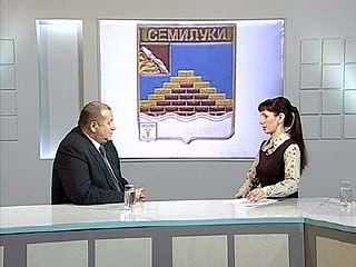 """Глава Семилук  Виктор Костыков - в программе """"Вести-интервью"""""""