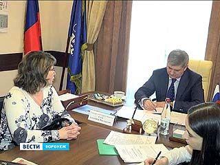 Глава Воронежа Александр Гусев провел очередной прием граждан