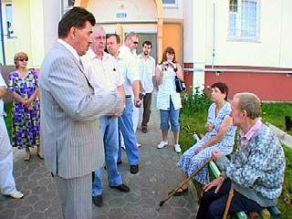 Глава Воронежа Борис Скрынников исследовал городскую окраину