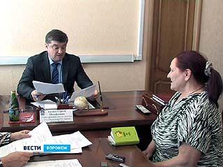 Глава Воронежа Сергей Колиух принимал воронежцев