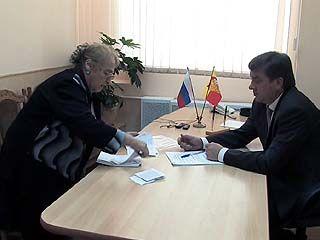 Глава Воронежа Сергей Колиух провел прием граждан
