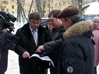 Глава Воронежа встретился с жителями Левобережного района