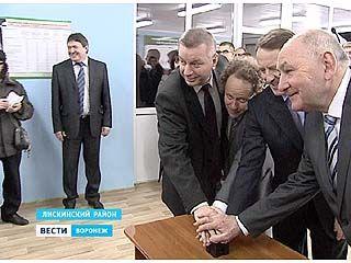 Глава Воронежского региона побывал с рабочей поездкой в Лискинском районе