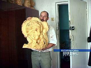 Главное хобби Федора Митрофанова - корневая скульптура