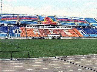 Главную футбольную арену области готовят к чемпионату