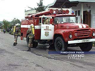 Главы районных поселений тренировались в тушении пожаров