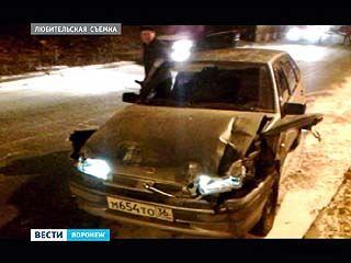Гололёд стал причиной крупного ДТП на улице Шишкова