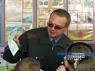 Госавтоинспекторы посетили поворинские школы