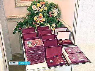 Государственные награды получили лучшие работники Воронежской области