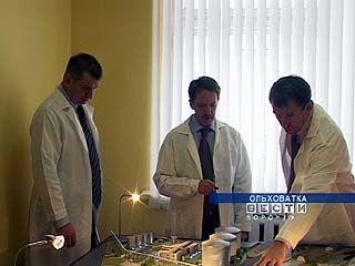Губернатор Алексей Гордеев побывал с рабочим визитом в посёлке Ольховатка