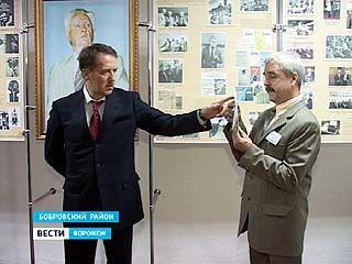 Губернатор Алексей Гордеев побывал в Бобровском районе