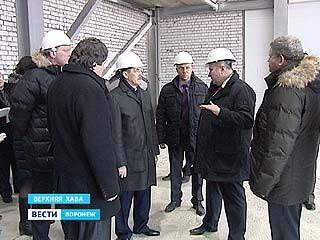 Губернатор Алексей Гордеев побывал в Верхнехавском районе